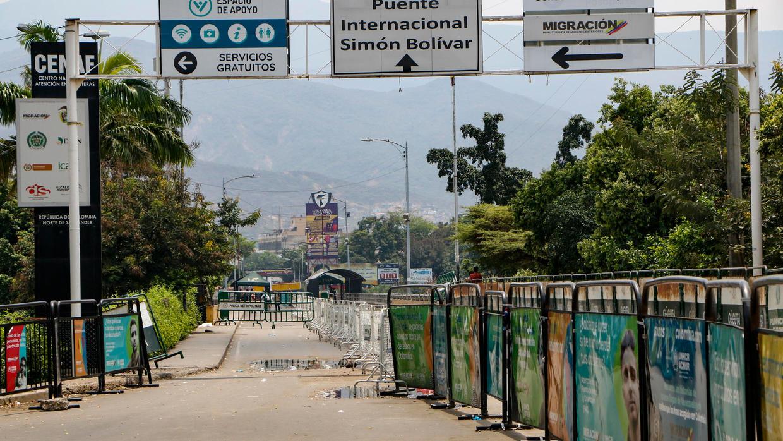 El Puente Simón Bolívar permanece cerrado