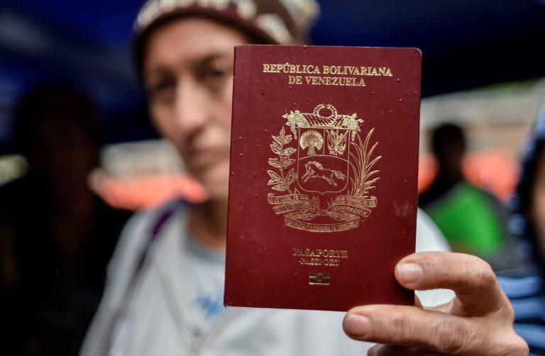 Migrante lucha en Colombia