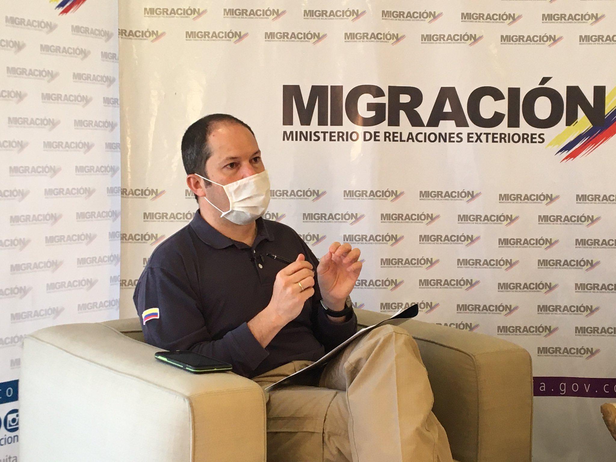 El sistema biométrico será 100 tecnológico según Juan Espinoza, director de Migración Colombia.
