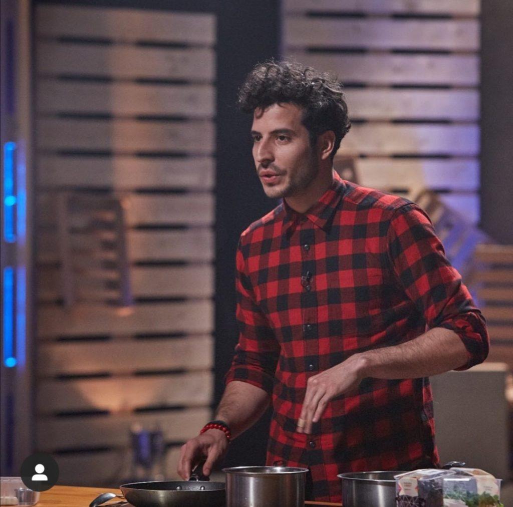 El venezolano Armando Mundarain durante su participación en el programa 'El Chef'.