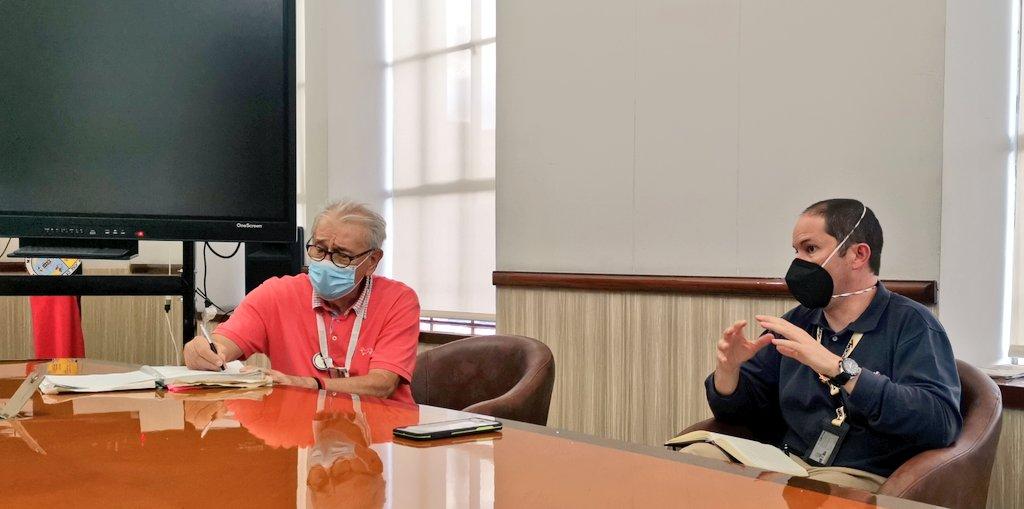 Director de Migración Colombia en mesa de trabajo para evaluar reapertura de las fronteras.